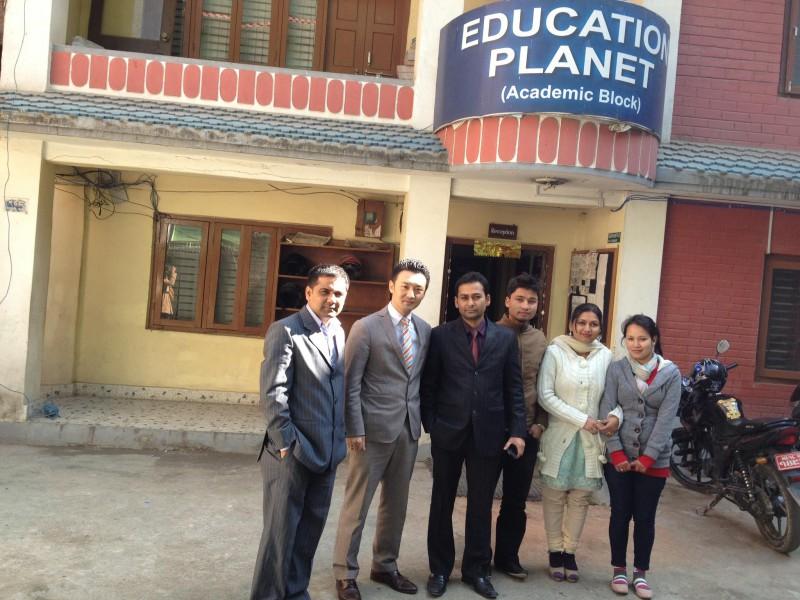 ネパール訪問